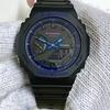 バーチャル【G-SHOCK GA-2100VB-1AJF】ブルー