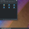 open SUSE 15.0 - KDE デスクトップ環境