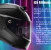 ECEやスネル規格もクリアするスマートヘルメットiC-Rs+が開発中!