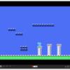 WebMSXでMSX BASICの自作ゲーム作成!第七弾。 ブロックの絵を複数描きました!(URLクリックで実行できます)