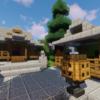 丘の上に神社を建てる2/2 【Minecraft】