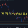 FX初心者による100万円から始めるFX生活、開始します!