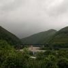 今日の北川村。
