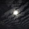 満月のある夜景(月世界にだって行きたいけれど)