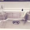 発見!シンク洗いを劇的に楽にする方法。