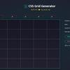 CSSグリッドを簡単作成「CSS Grid Generator」
