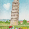 「ZelvaとKarlaの旅~ピサの斜塔 編」