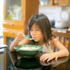 豚のミンチにニンニクたっぷりな中華粥