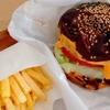 【テイクアウト】引っ越し前のラストランチは「ジューシーオールスターズ」のチーズバーガー
