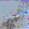 山形県では24時間雨量が300mm超え!戸沢村付近では1時間におよそ100mmの雨が降り、気象庁は記録的短時間大雨情報を発表!最上川では氾濫危険水位超え・山形新幹線は終日運転見合わせに!