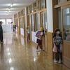2年生:雨の日の下校