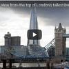 高層ビルの展望台からロンドン市街を一望