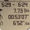 【マラソン日記】途中でやめずに20km