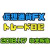 サーキットブレイク4連発!2018/1/16 トレード成績【仮想通貨FXトレード日記】