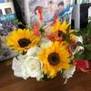 美しいお花に囲まれた追悼会でした