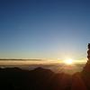 奥穂高岳へ朝駆け