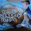 ローソン オホーツクの塩バニラカスタードシュークリームを食べてみた 日ハム中島卓也選手とHTBコラボ商品!あっさりした甘さが深いです!
