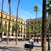 スペイン旅「夏のバルセロナ街歩き その3 都会なのにリゾートなんて……ずるい!レイアール広場界隈」