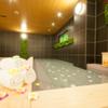 大浴場、スパ、マッサージチェア。長く歩いてもしっかりくつろげる。しかも立地が横浜駅から徒歩5分。グランパークイン横浜。