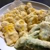 ホテルで食べた、板状のトウモロコシの天ぷらを作ってみた