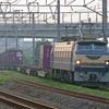 5月26日 東海道線 茅ヶ崎~平塚間 貨物列車撮影② EF66-27号機牽引の3073ㇾを撮る
