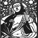 切り絵 de 仏像