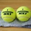 旅行や車の中でも使えるテニスボール枕の作り方。