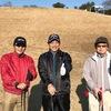今日は、今年最後のゴルフでした。