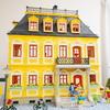 Playmobil 5301 黄色壁マンションの中
