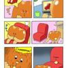 クリームパンのクリームさん「ソファー」/ Mr.cream bun「sofa」