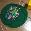 レゴ用の手作りプレイマットの作り方 ~散らかるおもちゃの片付けに~
