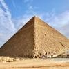 エジプト ギザ 「クフ王のピラミッド」 観光、ピラミッド内部へ 低い 狭い 傾斜の辛い上り通路でした