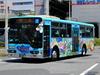 7/14撮影|大船駅でバス「えのんくん号」