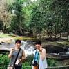 クバールスピアン遺跡とカンボジア日本人旅とタクシーチャーターアート