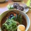 ●古墳の町行田だからライスも前方後円墳「スープカレーNeko」の和風スープカレー