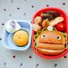 ホットドックマンキャラ弁~冷凍食品を使わず可愛い幼稚園弁当~