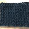 かぎ針編み  レッグウォーマー  編み編み開始