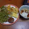 幸運な病のレシピ( 516 )昼:蕎麦に天ぷら