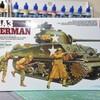 タミヤ M4A3 シャーマン 製作中その1