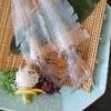 佐賀県呼子のイカ料理