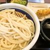 ざるうどん(得) + かしわ天(丸亀製麺)
