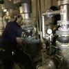 総社市内 某複合温泉宿泊施設 全館空調用温水循環ポンプ 更新