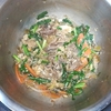 ホットクック:牛肉とニラのオイスターソース炒めに挑戦!炒める機能で20分♪