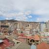 【ボリビアのラパスの街並み】ライカコタの丘からの眺め!!日本食レストランけんちゃん&Yoshiko'sの2店舗