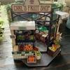 ミニチュア、DIY House キット[Carl's Fruit Shop]を作ってみました