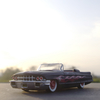 '61 Cadillac series 62に乗って、隣町に行った帰り。