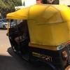 海外テント事例 インドのタクシー