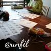 レッスンレポート)4/22 本川町教室 春夏も靴下編みが人気です