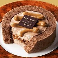Uchi Café×GODIVAは裏切らないっ!キャラメル香るロールケーキは買うしかないっ!