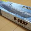 モーター付き自動浮沈潜水艦「Uボート」プラモデルを買いました。